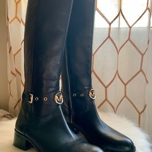 Michael KORS Riding leather high Knee Boots